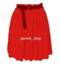 PR Women Chiffon Short Mini Skirt Lining Pleated Retro Elastic Waist Hot Skirts