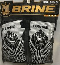 BRINE Uprising Lacrosse Arm Pad, White, Sizes Medium or Large