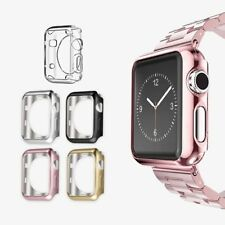 Full Body Snap On PC/TPU Case Cover Protector For Apple Watch Series 1/2 38/42mm