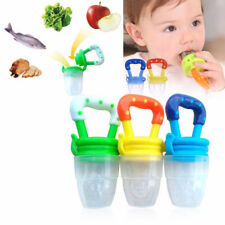 Safe Feeding Pacifier Baby Fresh Food Fruits Soup Feeder Soother Weaning Nipple