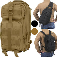 Convertible Military Medium Transport Backpack to Shoulder Sling Bag
