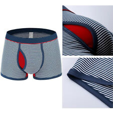 Men Boxer Shorts Boxers Sexy 1 pcs Cotton Stripe Underwear Men Underwear