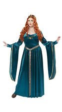 Female Plus Size Lady Guinevere Costume, Plus Size Medieval Costume