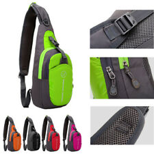Unisex Casual Shoulder Crossbody Sling Bag/Backpack/Pouch Chest Pack Cycling bag