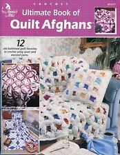 Ultimate Book of Quilt Afghans ~ 12 Quilts, Annie's crochet patterns OOP new