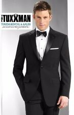 Mens Cruise Concert Band Black Tuxedo Uniform Formal Attire Polyester Package