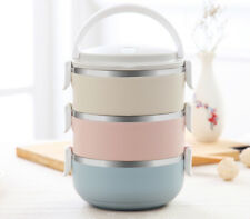 Portable Bento Thermal Food Picnic Container Stainless Steel Japanese Lunch Box