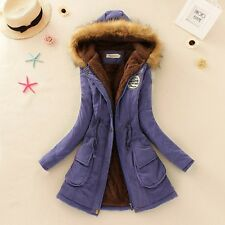 Giacca Cappotto Donna Parka Fashion Woman Jacket Coat Winter Outwear Clothes