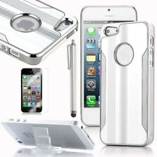 Silver Chrome Aluminum Hard Case Cover For iPhone 5