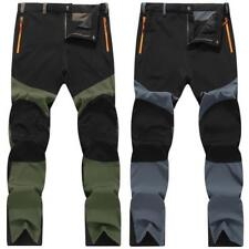 Mens Outdoor Hiking Climbing Combat Trousers Cargo Pants Plus Size Windproof Hot