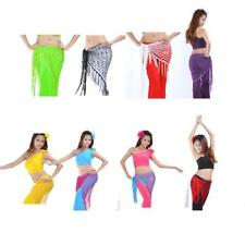 Shunning Belly Dance Costume Belly Hip Scarf Dance Belt Teasel Wrap