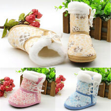 1 Pair Sole Toddler Infant Soft Baby Children Shoes Snow Boots Casual Fashion