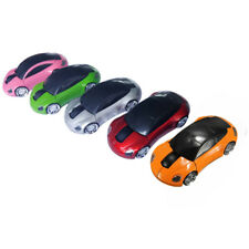 1Pcs 1800DPI New Car Shaped PC For Laptop Mouse USB 2.4G Wireless Optical Mice
