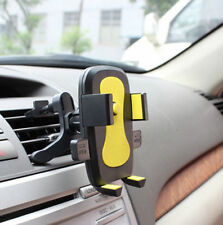 Cradle Samsung Mobile Phone Car Air Vent for iPhone Mount Cellphone Holder Stand