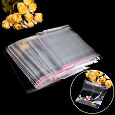 Wholesale 100pcs/Set OPP Clear Seal Self Adhesive Plastic Jewelry Packing Bags