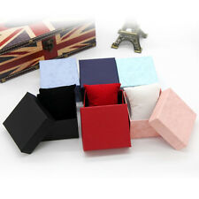 Hot! Present Gift Boxes Case For Bangle Jewelry Ring Earrings Wrist Watch Box SU