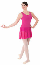 Women's Body Wrappers Chiffon Pull-On Dance Skirt