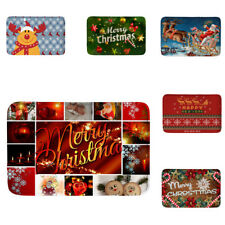 Merry Christmas Floor Mat Door Mat Rug Home Decor Non-Slip Floor Carpet