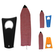 6' Stretch Terry Surfboard Shortboard Sock Cover Protective Bag & Wax Comb