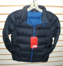 THE NORTH FACE BOYS ANDES DOWN WINTER JACKET-STYLE CHQ6- COSMIC BLUE -S,M,L,XL