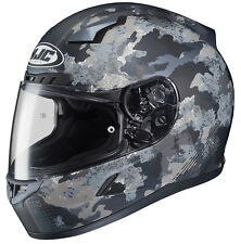 HJC Adult CL-17 Void Grey Camo Full Face Motorcycle Helmet Snell DOT