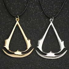 Assassins Creed Necklace Pendant KeyChain Keyring Origin Altair Ezio Collectable