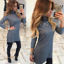 High-Necked Slim Long T-shirt Sexy Fashion Bodycon Long Sleeve New Womens