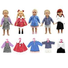 """Doll Winter Clothes Suit Shawl/Sweater/Jacket/Pants/Dress for 18"""" American Girl"""