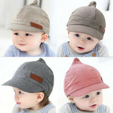 Sz 0-12 Months Newborn Kids Sun Hat Berelet Cap Baby Girl Boy Cotton