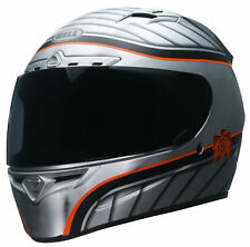 Bell Silver/Red/Black Adult Vortex RSD Dyna Full Face Motorcycle Helmet