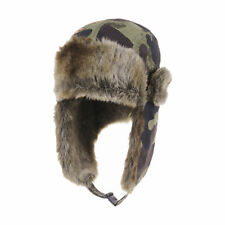 WITHMOONS Military Flower Trapper Winter Trooper Hat Ear Flap Cap CR7159