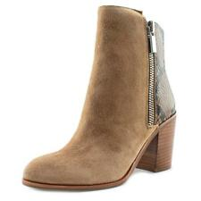 Kenneth Cole NY Ingrid Women  Round Toe Suede Tan Ankle Boot