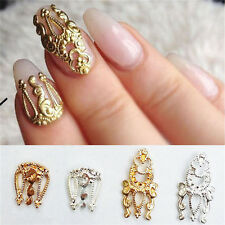 Charm 10pcs 3D Hollow Nail Art Alloy*Tips Decoration Jewelry Glitter Rhinestone*