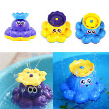 Bath Kids Educational Toys Spray Water Octopus Can Float Rotate With Fountain