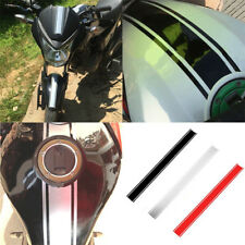 50cm Motorcycle Stylish Stripe Car Tank Cowl Vinyl Sticker Decal For Cafe Racer