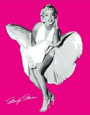 New Shocking Pink Marilyn Marilyn Monroe in The Seven Year Itch Mini Poster