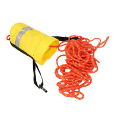 Buoyant Rescue Line Throw Bag with Reflective Strap for Kayak Canoe 16m/21m