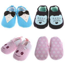 Boy Girl Infant Toddler Kids Children Soft Sole Baby Cotton Shoes Crib 0-1 Y