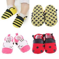 Soft Sole Baby Cotton Shoes Boy Girl Infant Toddler Kid Children Crib 0-1 Y