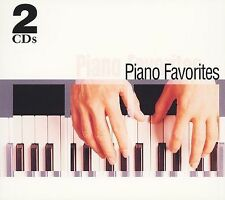 Piano Favorites by Various Artists 2 CD Disc Set Jul-2005 Madacy