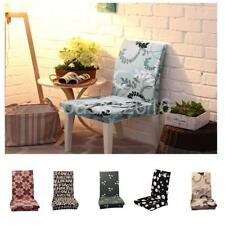 Universal Stretch Dining Room Chair Cover Slipcovers Stool Washable Protector