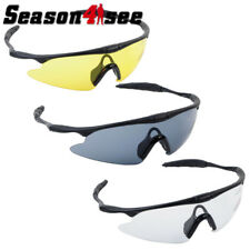 UV100 Airsoft Tactical Sport Goggle Eye Protect Outdoor Shooting Glasses 3 Color