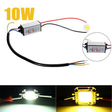 10W Cool / Warm White Waterproof High Power LED Driver Supply LED SMD Chip Bulb
