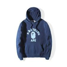Men's Japan A Bathing Ape Cotton Bape Sweats Ape Pattern Hoodie Jacket