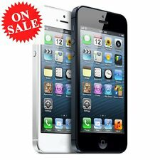 Apple iPhone 5 4S 16 32 64GB GSM Factory Unlocked IOS Smartphone- Black or White
