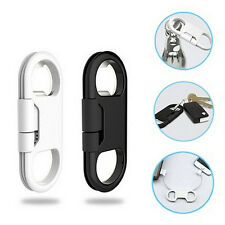 3in1 Bottle Opener Keychain Data Cable USB Charging Cord for Smart Phone FT