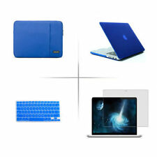 Rubberized hard case Soft sleeve bag keypad cover to Macbook Pro Air 11 12 13 15