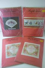 REFLEXIONS ASSORTED COUNTED CROSS STITCH KITS. NEW. FREEPOST