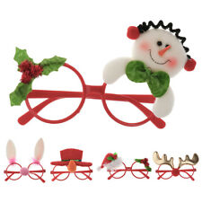 Cute Christmas Ornaments Glasses Frames Evening Party Toy Kids Xmas Gifts Décor