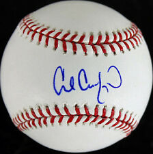 Dodgers Carl Crawford Signed Authentic OML Baseball Autographed PSA/DNA #M58081
